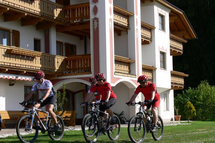 Mountain Bike Urlaub am Tschantnaihof