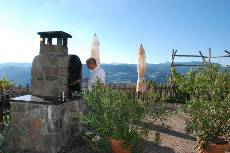 Barbecue nell'Hotel Tschantnaihof